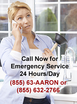 Emergency Plumbing Service 24 Hours a day